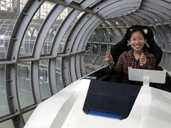Super Maglev Magnetic Levitation Vacuum Train
